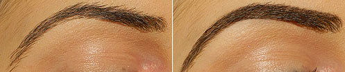 maybelline define a brow before and after