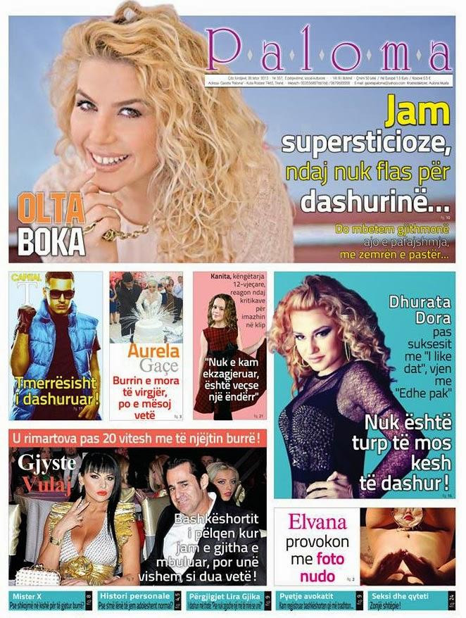 Revista PALOMA - 26 Tetor 2013