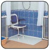 Barras de agarre y sillas auxiliares para ba o en zaragoza for Duchas para discapacitados