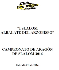 NEXT EVENTS: Slalom Albalate