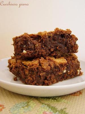 Esse brownie derrete na boca! É delicioso!