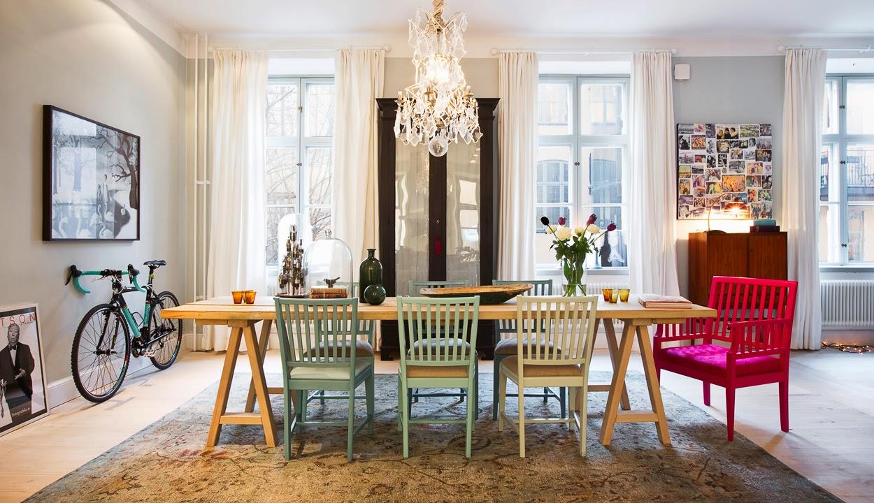 Kreativa kvadrat ab: inspirerande lägenhet via wrede ...