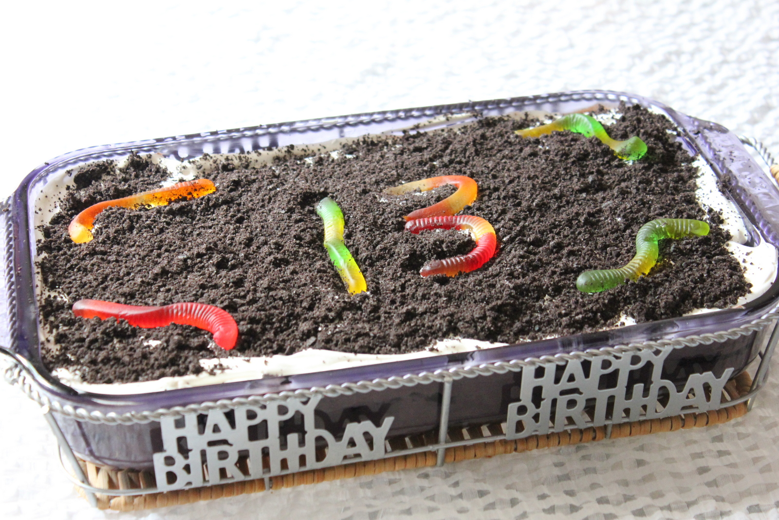 Punkie Pies Place Birthday Dirt Cake