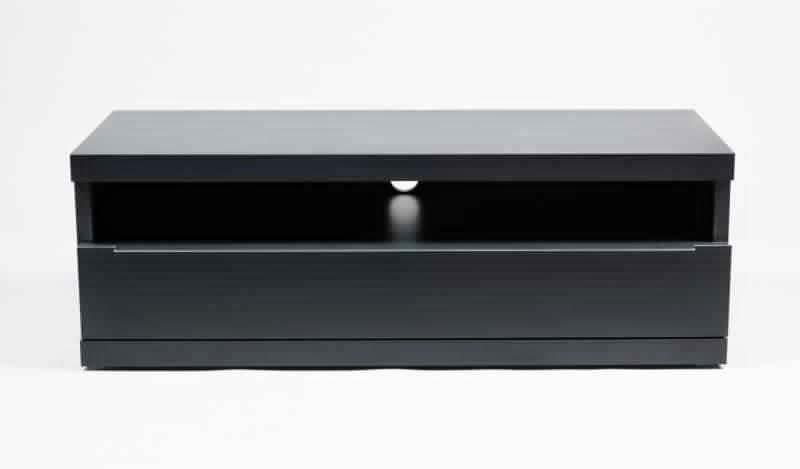 meuble tv bois noir mat conceptions de maison. Black Bedroom Furniture Sets. Home Design Ideas