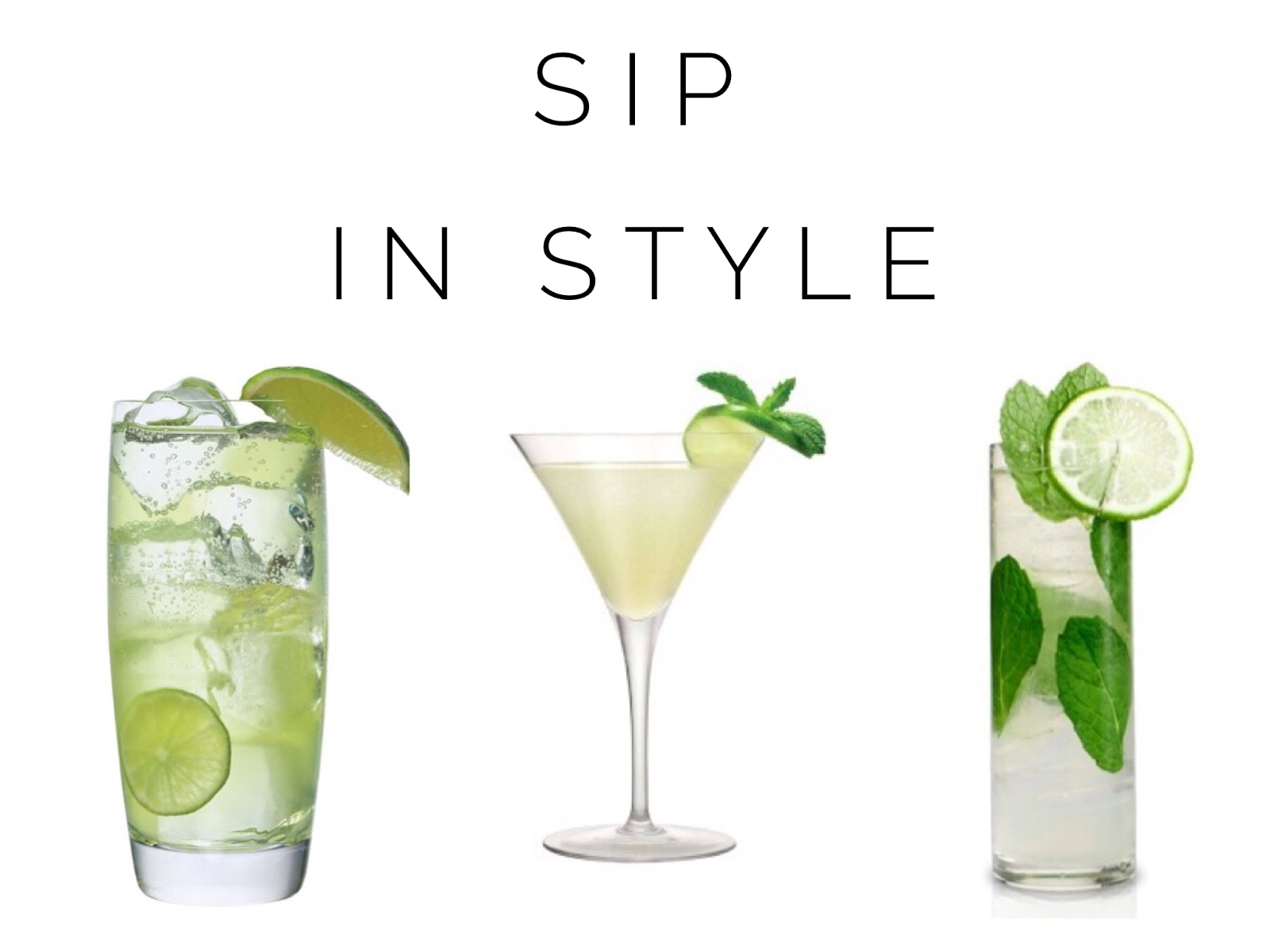 Sip in Style | St. Patricks Day Cocktail Recipes | Sassy Shortcake Boutique | blog.sassyshortcake.com
