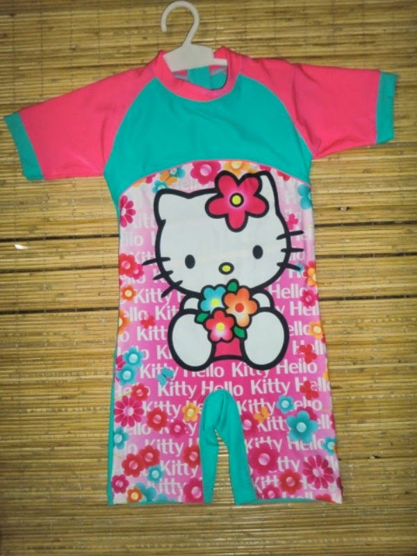 Gambar Baju Renang Hello Kitty Untuk Anak Perempuan Model