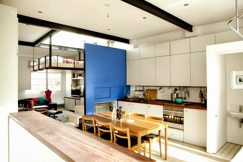 13-1st-Floor-Studio-Mews-Apartment-Camden-London-UK-Skylight-Roof-Terrace-Garden