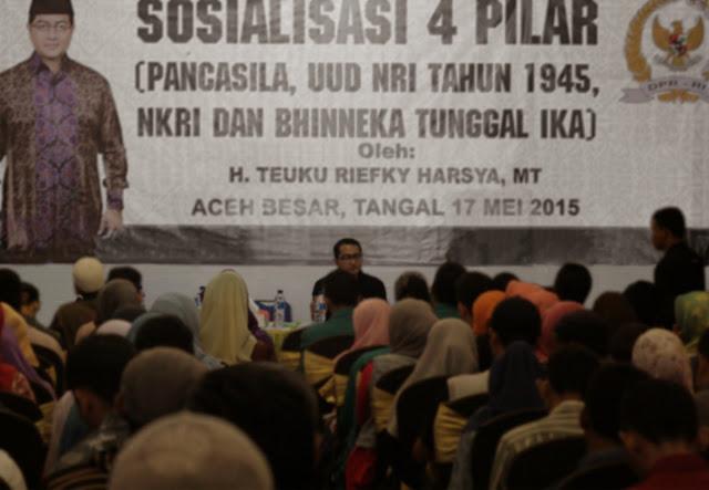 Teuku Riefky : Pemuda Harus Menjadi Pelopor Utama Basmi Narkoba di Aceh