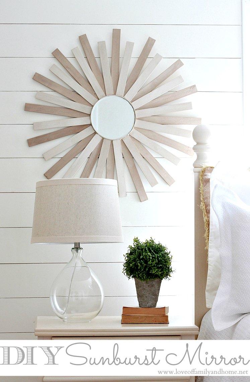 Diy Sunburst Mirror Love Of Family Amp Home