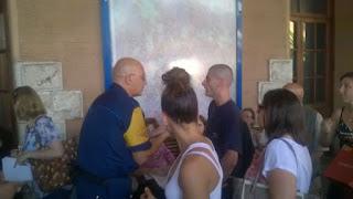 Roma-Lido: Spiegazioni a Porta San Paolo