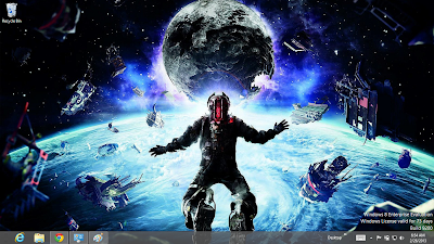 Dead Space 3 Windows 7 Theme