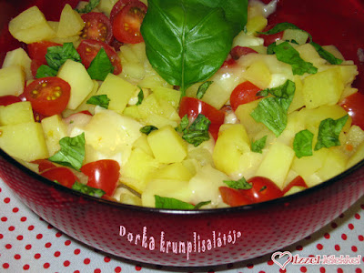 Dorka krumplisalátája