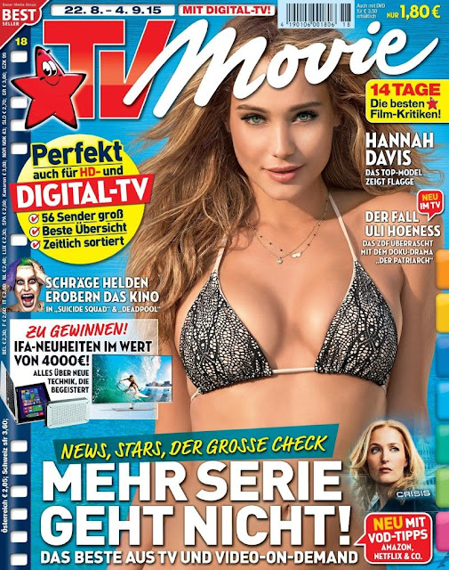 Fashion Model @ Hannah Davis - TV Movie Germany, August 2015