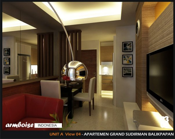 Interior Apartment Kecil