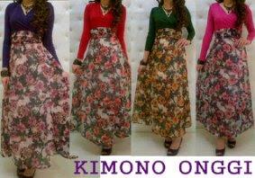 maxi kimono onggi