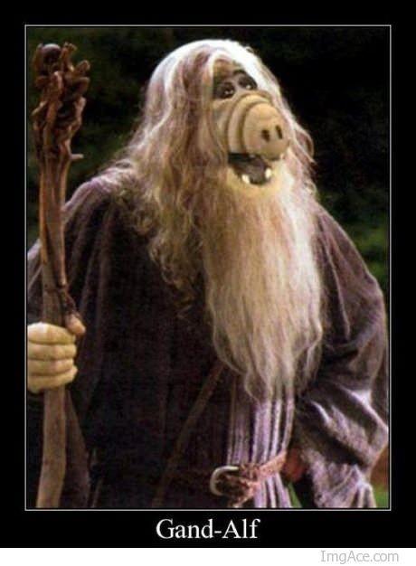GandAlf, menudo MashUp entre Gandalf y Alf