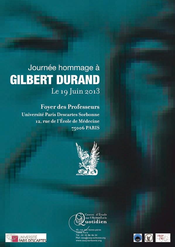 <b>Hommage à Gilbert Durand</b>