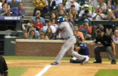 Yasiel Puig Home Run Swing
