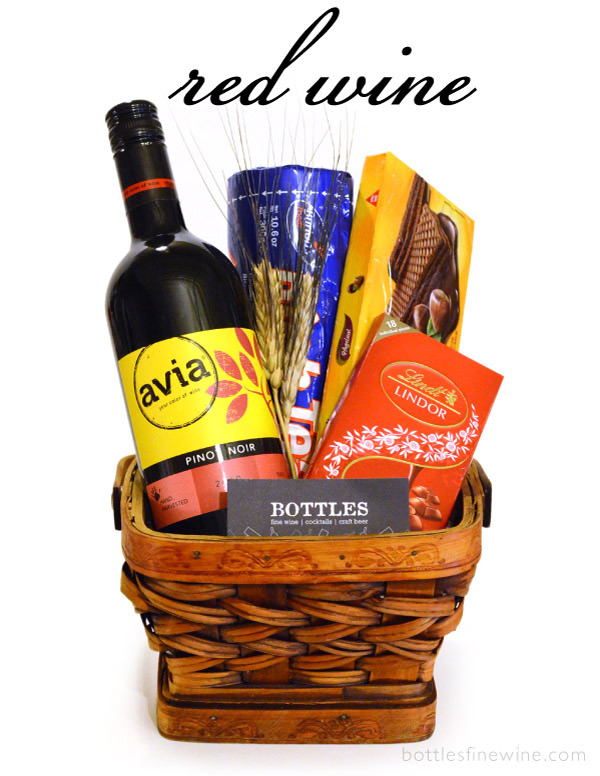 Red Wine Gift Basket Budget Providence