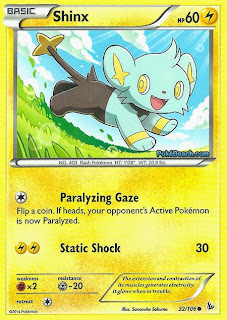 Shinx Flashfire Pokemon Card
