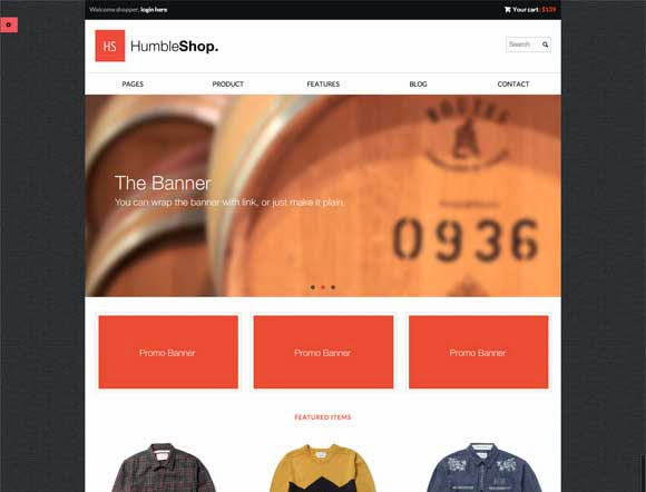 HumbleShop - Minimal Wordpress eCommerce Theme