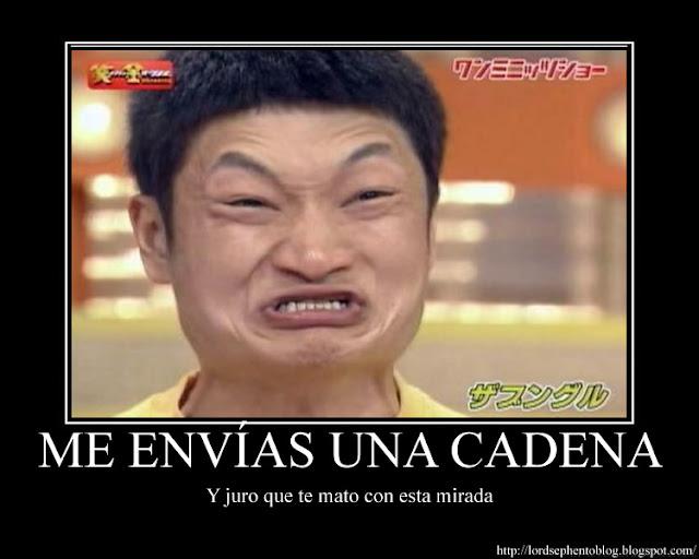 Las Cadenas Son Algo De Muy Mal Gusto  Siempre Evito Re Enviar Cadenas