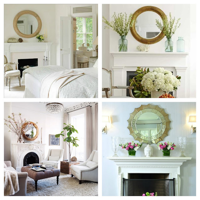 Mirror, Mirror on the Wall 8 Fireplace Decorating Ideas
