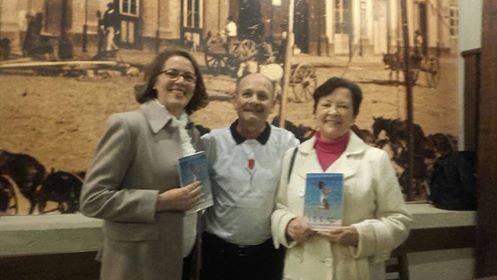Manoel com Eliana Ianzer Mendonça e Neiva Yanzer