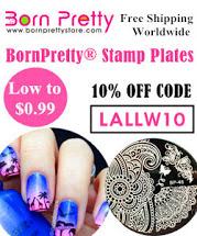 BornPrettyStore 10% off code: LALLW10