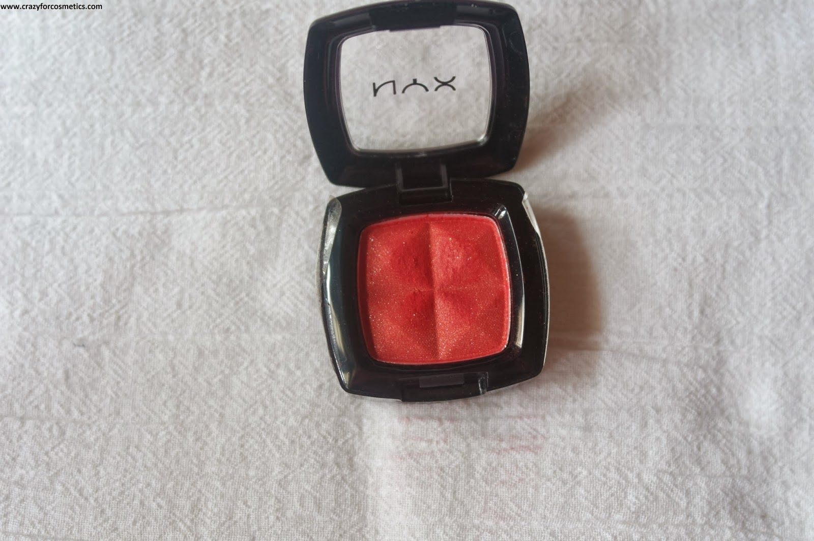 NYX Single Eyeshadow 109 Sunrise Review Swatches