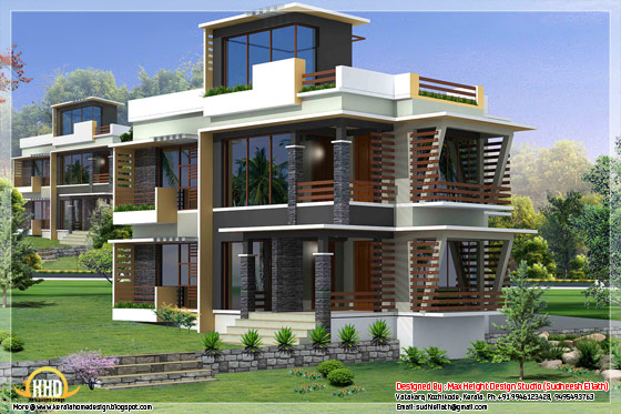Next gen house elevation