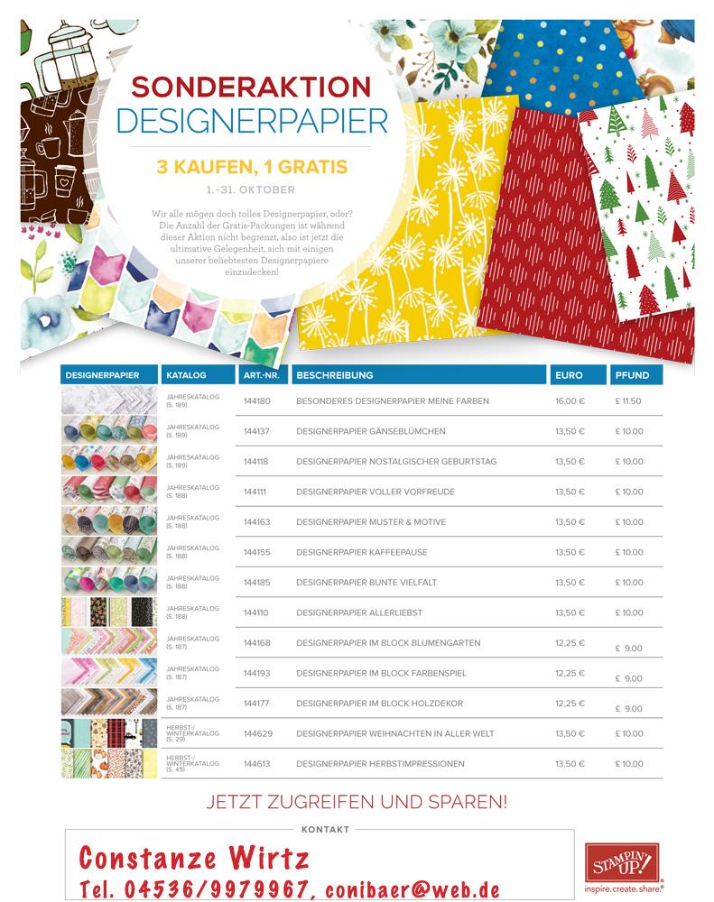 Sparen beim Designpapier