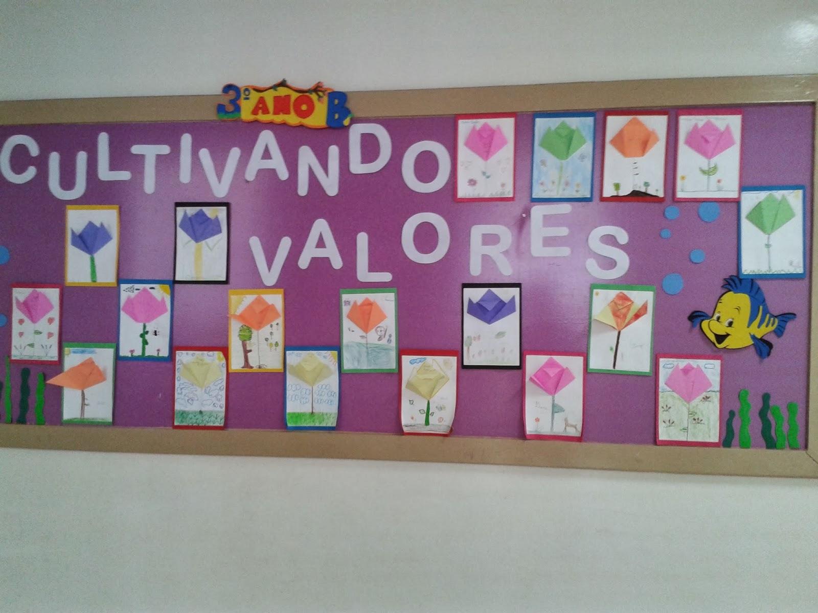 Pedag giccos cultivando valores for Mural de natal 4 ano