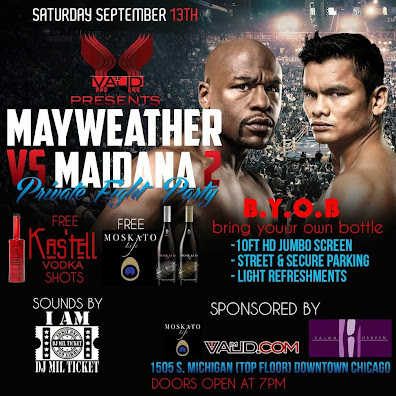 "Sept 13th ""Mayweather vs. Maidana"" 2 