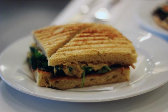 peacefood cafe bakery review vegan panini