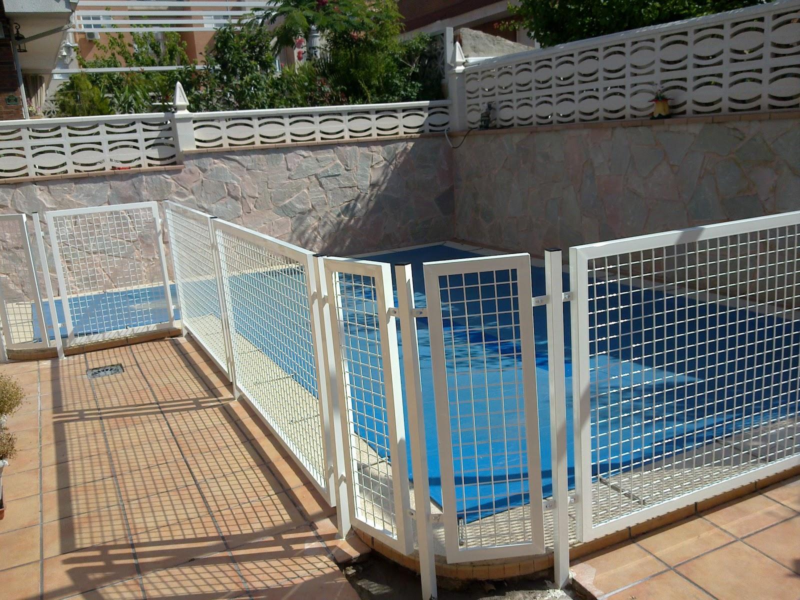 Vallas met licas valla de piscinas for Vallas metalicas para piscinas