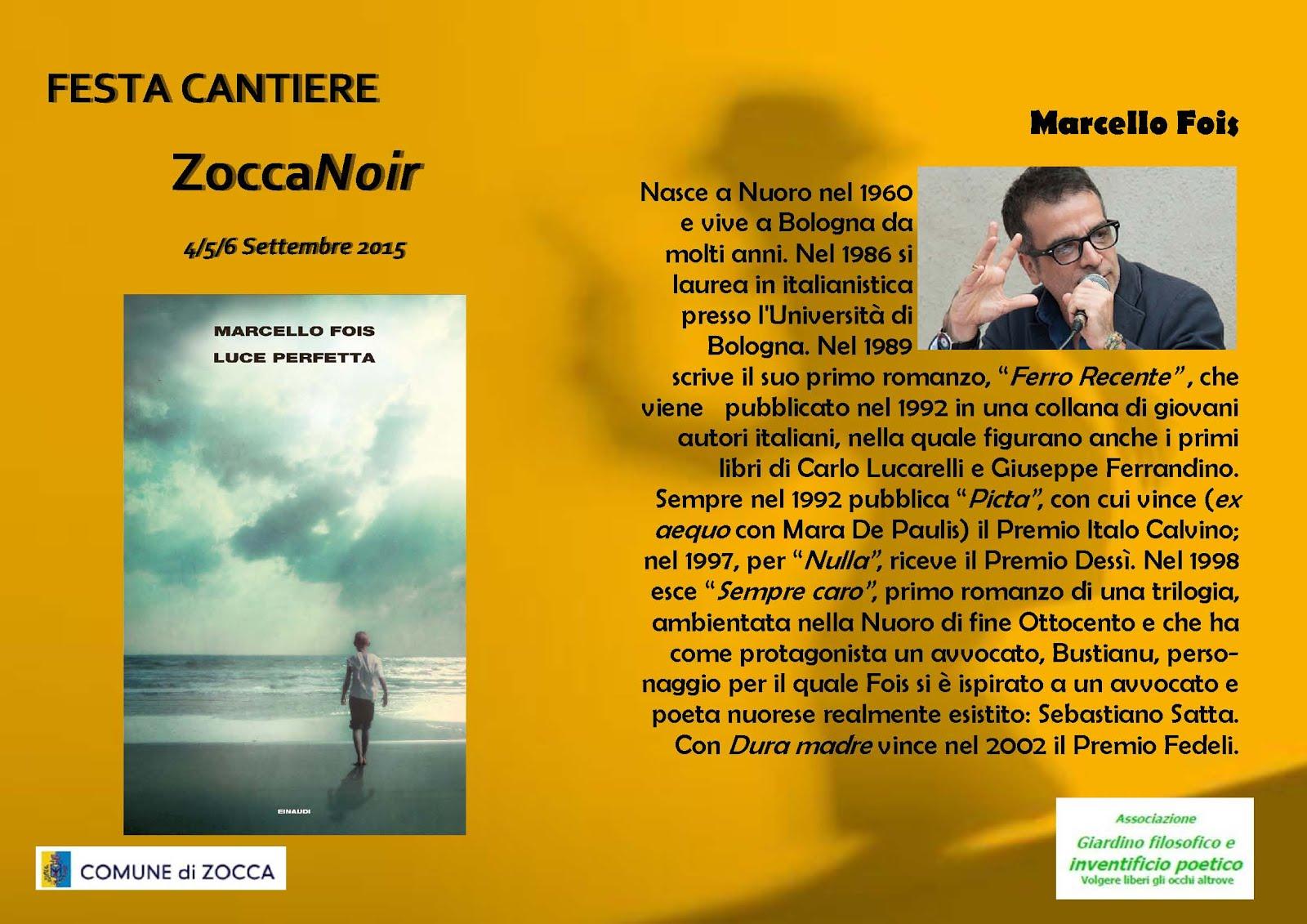 Biografia Marcello Fois