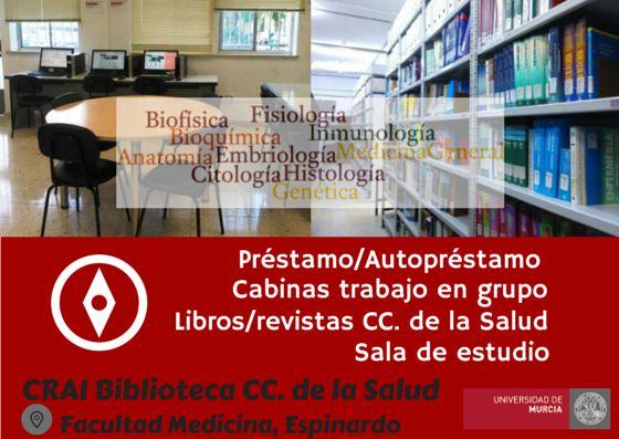 CRAI Biblioteca Ciencias de la Salud