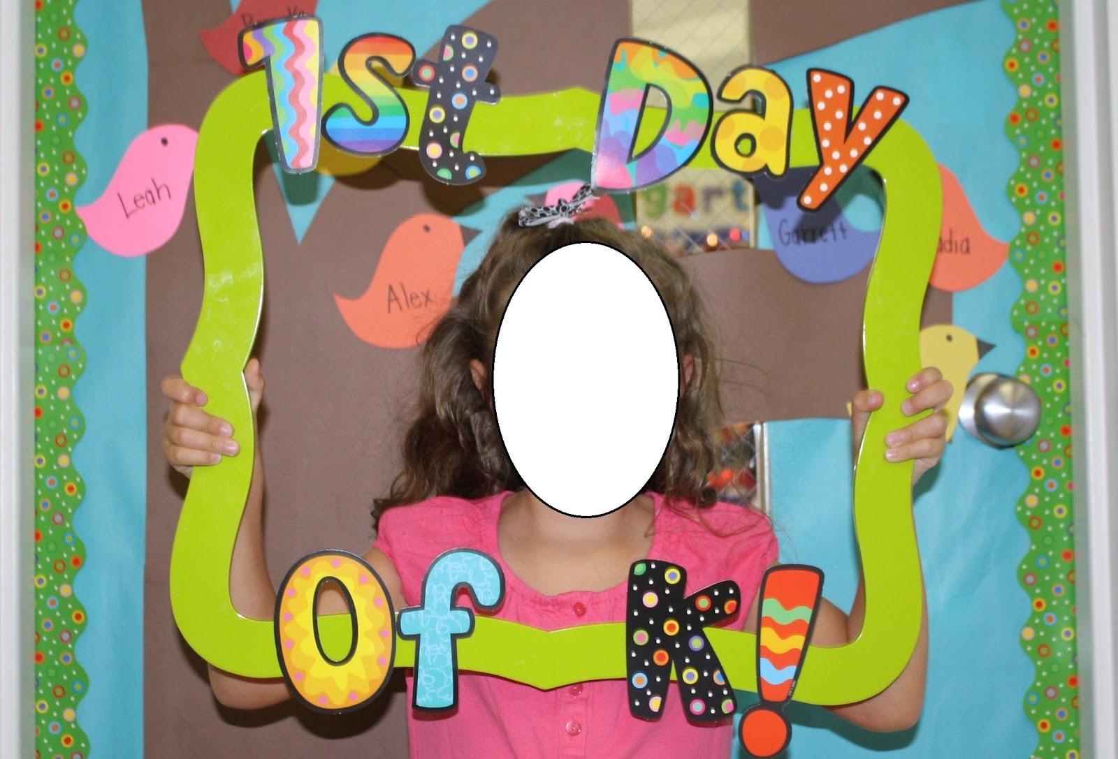 Scrapbook ideas kindergarten - Throwback Thursday