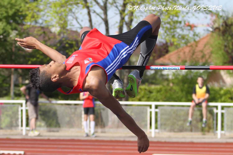 beau athlete athletisme