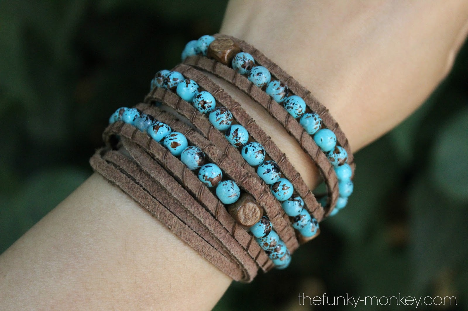 The Funky Monkey Giveaway Suede Wrap Bracelet Of Your Choice From Willamy Collection