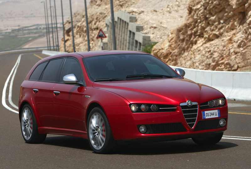 alfa romeo 159 sportwagon 2009. Black Bedroom Furniture Sets. Home Design Ideas