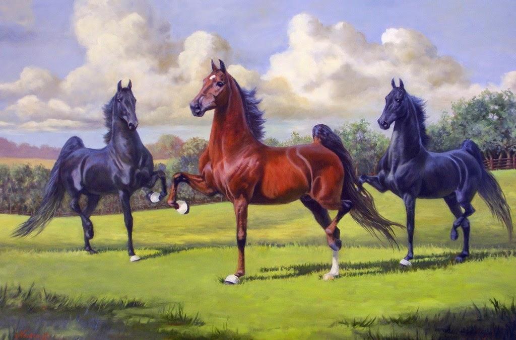 caballos-pintados-en-hiperrealismo-al-oleo