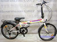 Sepeda Lipat Element City 20 Inci