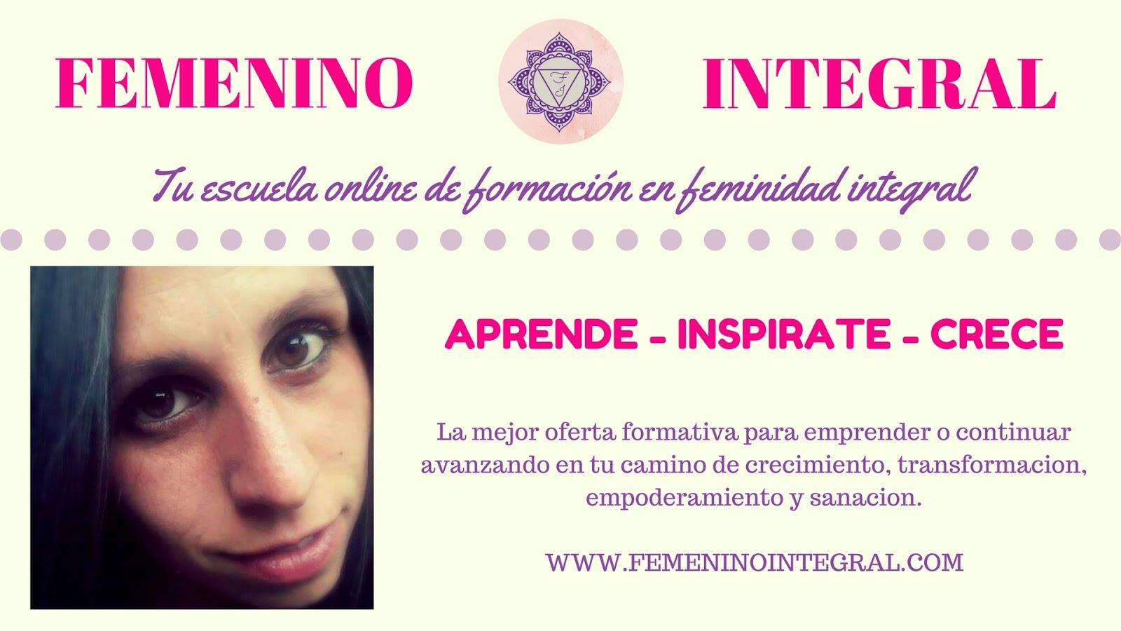 Tu escuela online de feminidad integral