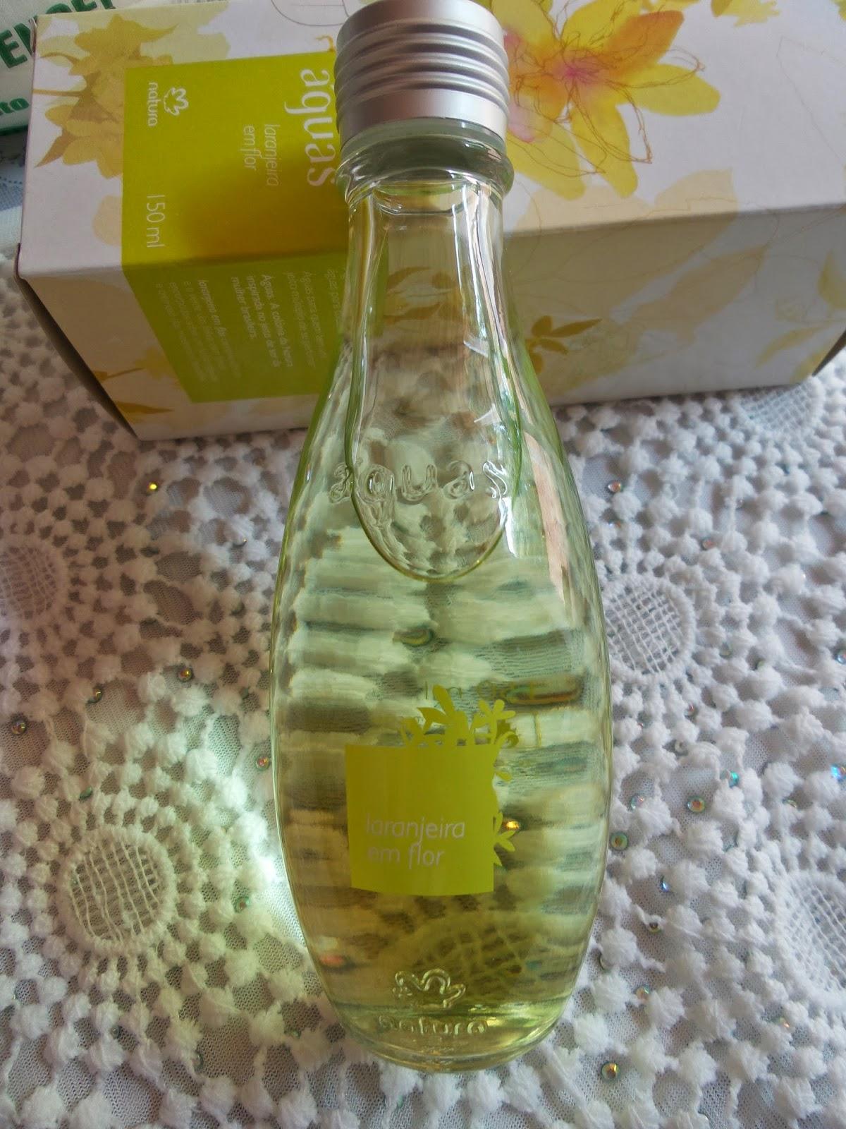 Perfume cítrico,  Águas Laranjeira em Flor, Natura