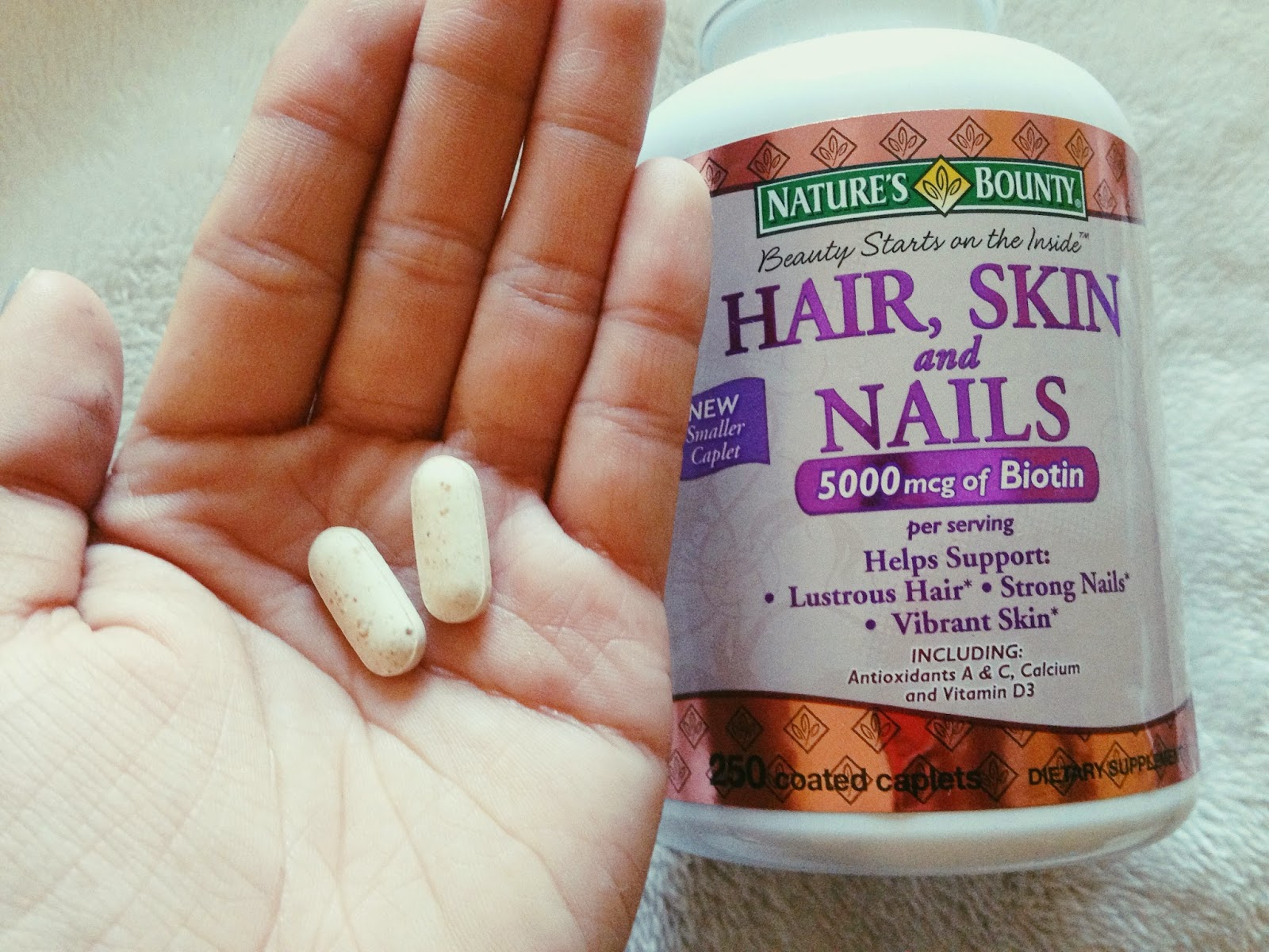 Nature S Bounty Hair Skin And Nails 5000 Mcg Of Biotin Side Effects ...
