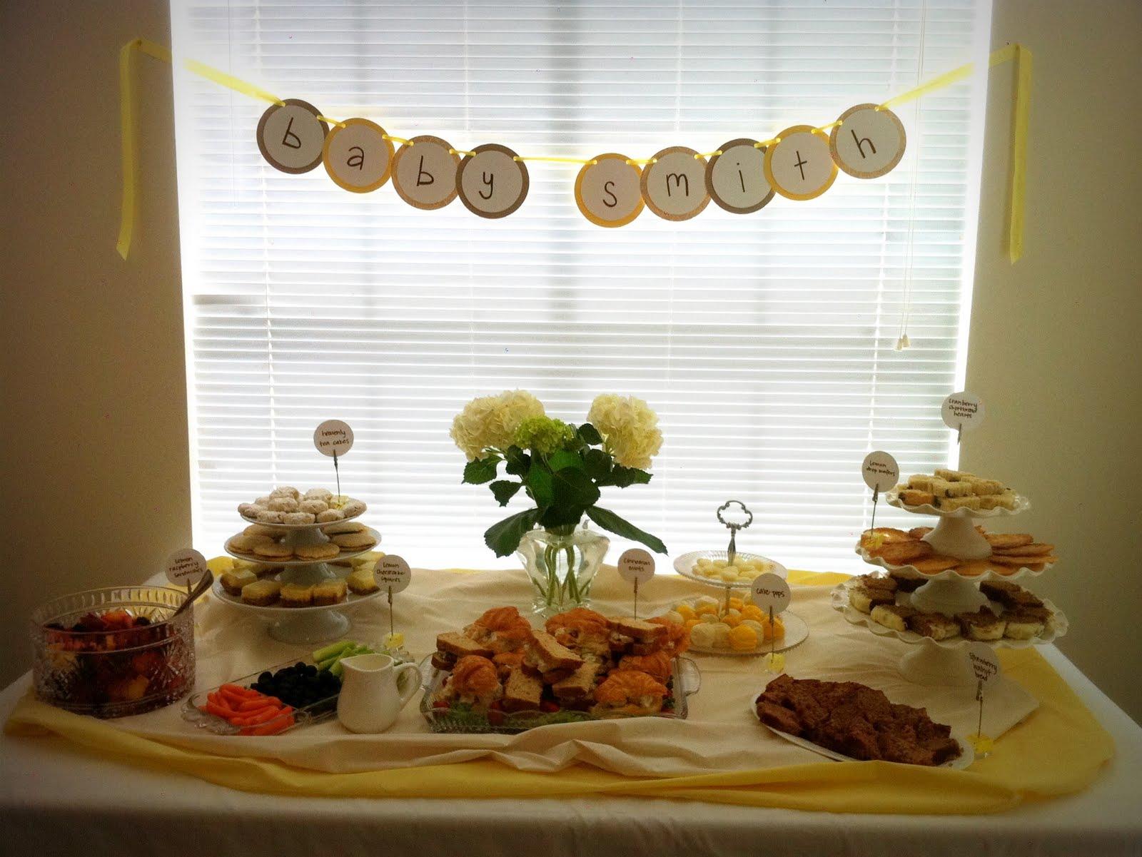 flour girl tea party baby shower