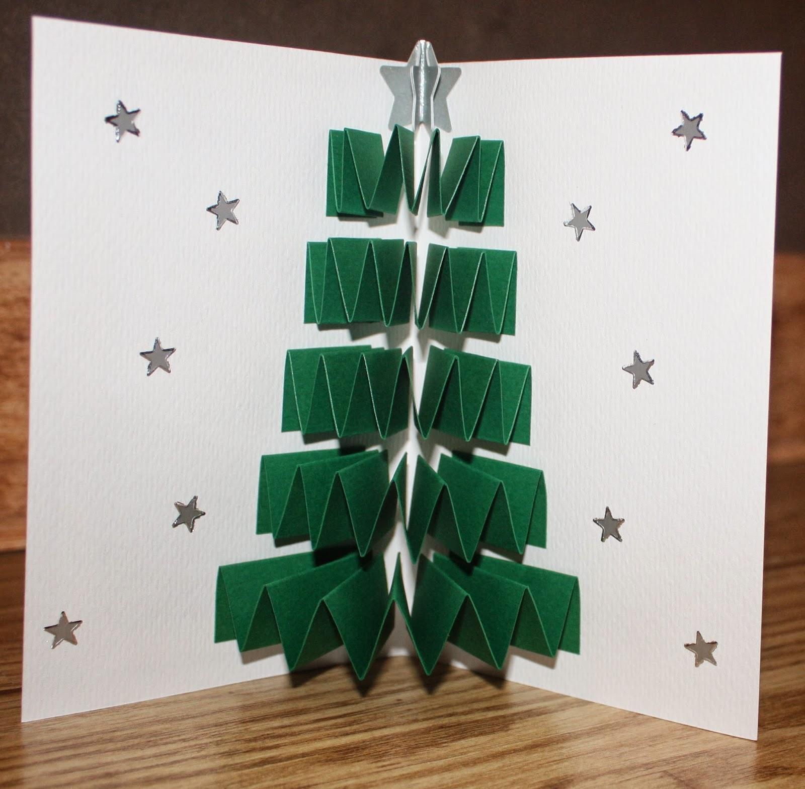 Carte Noel Fait Main Simple Cartes Carte De Voeux Fait