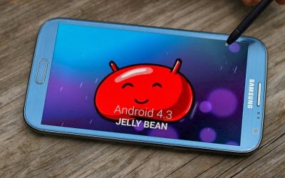 android 4.3 jellybean note 2 update